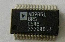 AD9851 CMOS 180 MHz DDS/DAC Synthesizer