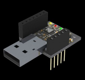RFD22121 USB Shield for RFduino