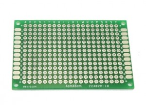 Double-Sided Protoboard 4cm x 6cm