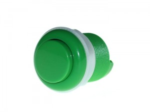 33mm Arcade Game Push Button - Green