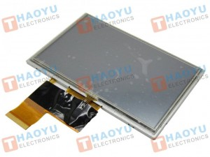 "5"" inch 480x272 TFT LCD Display + Touch Panel, Standard 40 PIN AT050TN33 v.1"