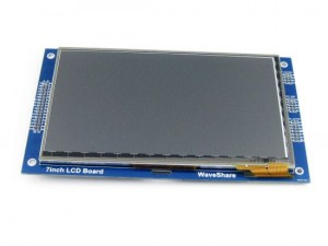 7 inch 800*480 Multicolor Graphic LCD, with capacitive touch screen