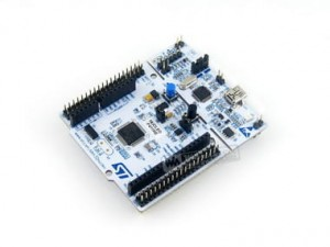 NUCLEO-F411RE with STM32F411RE MCU