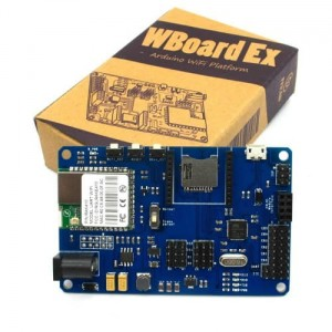 WBOARD EX WIFI DEVELOPMENT PLATFORM BASED ON ARDUINO