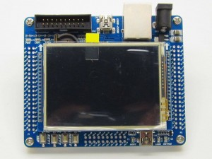 "LPC1768-Mini-DK2 Development board + 2.8"" TFT LCD 16bit controll"