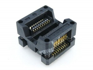 Enplas IC Test & Burn-in Socket, for SOP20, SO20, SOIC20 package