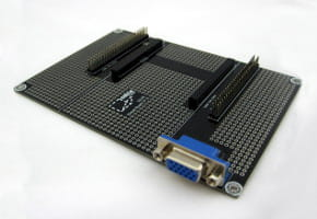 CUBIE PROTO BOARD WITH VGA CONNECTOR