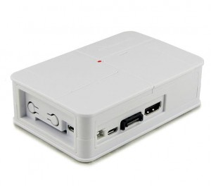 Banana Pi white plastic box
