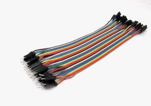 1 pin F/M jumper wire 200mm 40pcs