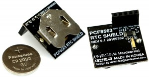 RTC Shield for Odroid-C2