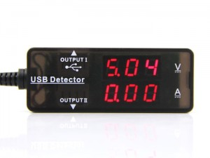 USB Current Voltage Detector