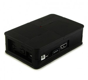 Banana Pi black plastic box