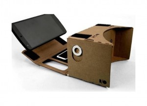 Unofficial Version Google Cardboard with NFC tag