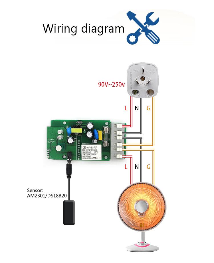 Sonoff Th16 Przeka U017anik Sterowany Wifi Z Funkcj U0105 Pomiaru