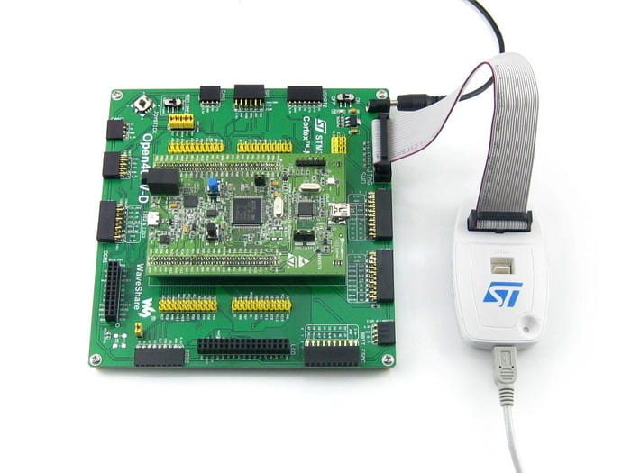 Open407V-D tool for STM32F4DISCOVERY