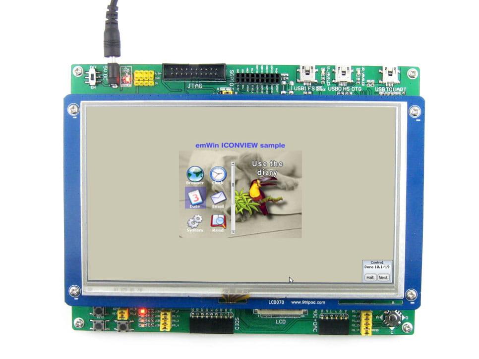 Stm32f746 Ethernet Example