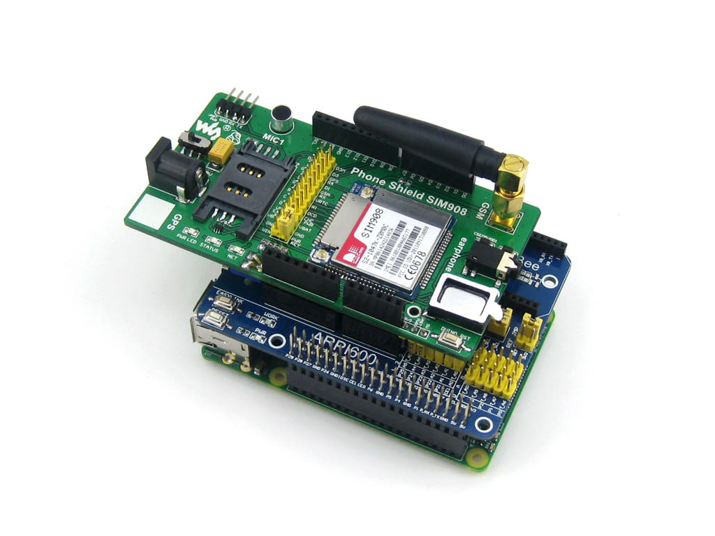Home Automation using Raspberry Pi 2 - Arduino