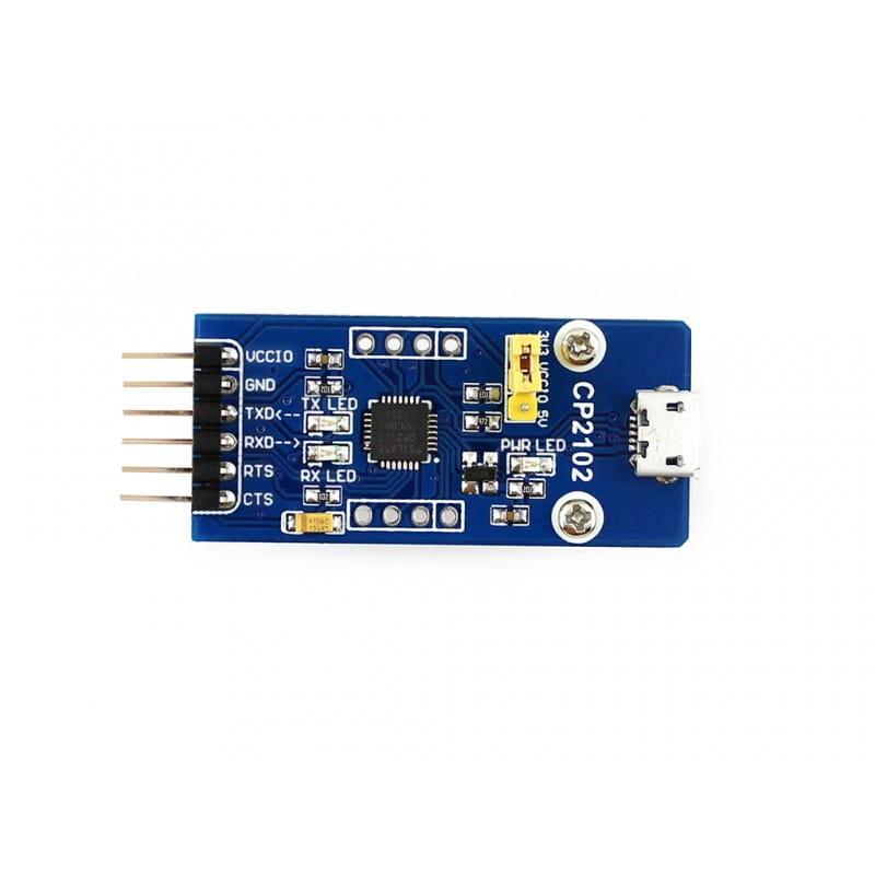 Arduino Pro mini Guide using CP2102 Tinkbox